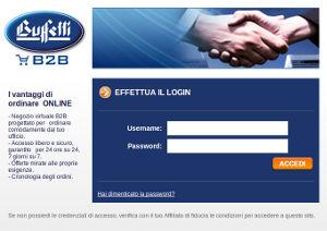Portale Buffetti B2B