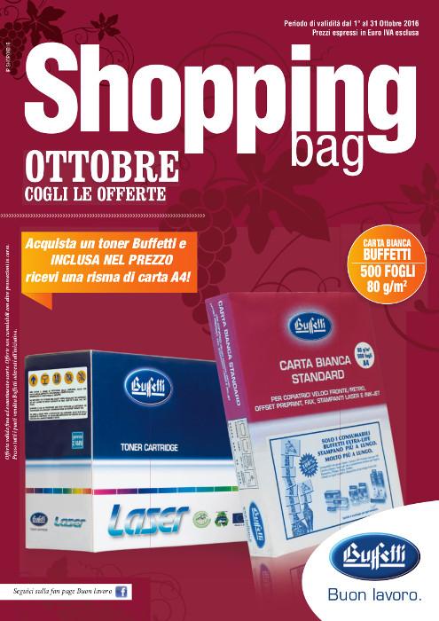 Shopping Bag Buffetti - Ottobre 2016