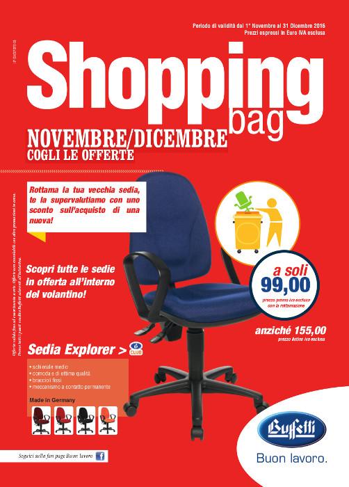 Shopping Bag Buffetti - Novembre/Dicembre 2016